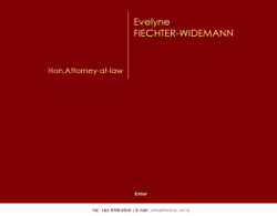 Evelyne Fiechter-Widemann